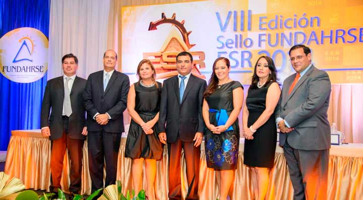 Sula Fundahrse entrega sello Empresa Socialmente Responsable 2014
