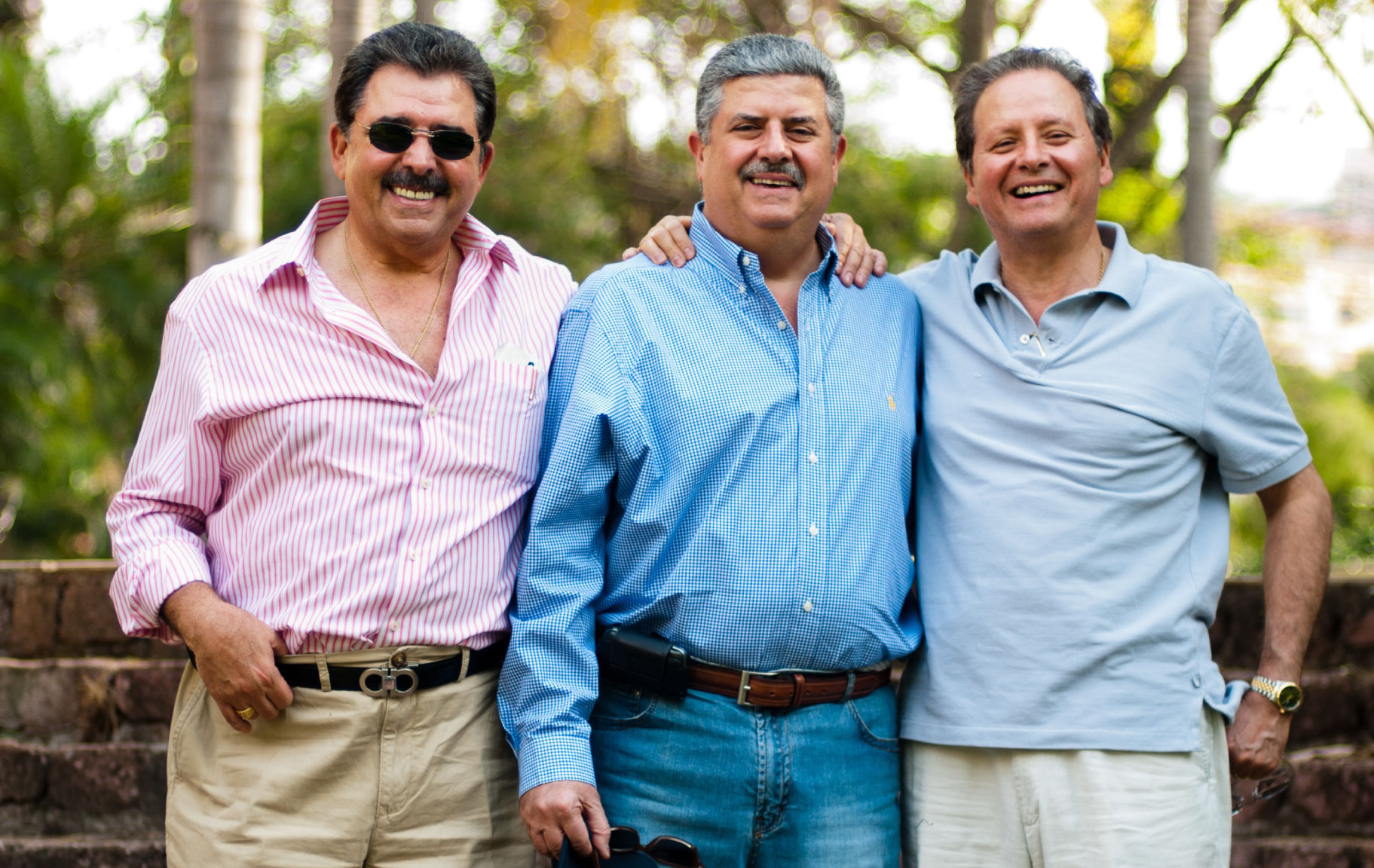 Los Hermanos Kafie, Schucry Kafie, Eduardo Kafie y Luis Kafie