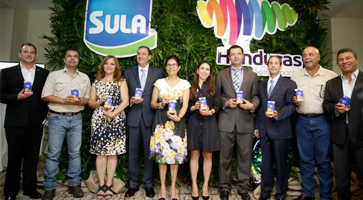 Sula llevará con orgullo el sello de Marca Honduras en sus productos